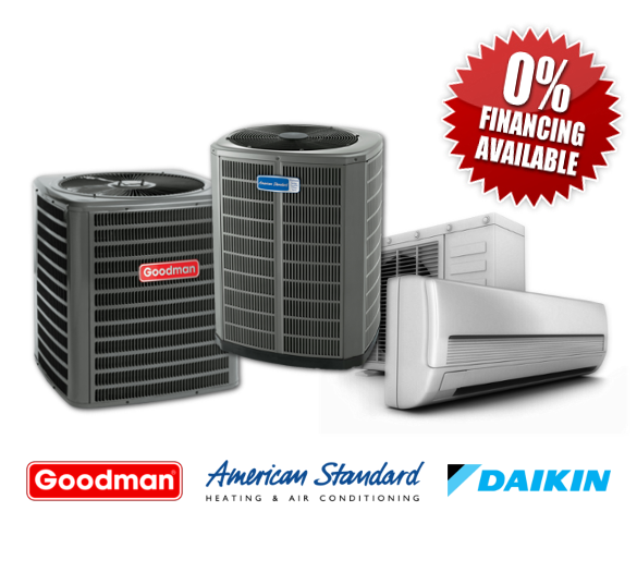 Martech Heating and Air Conditioning Services Residential 0% Financing Available
