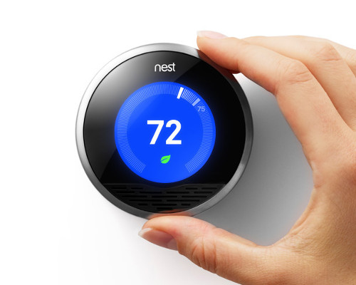 DFW Air Conditioner Smart Thermostat Nest